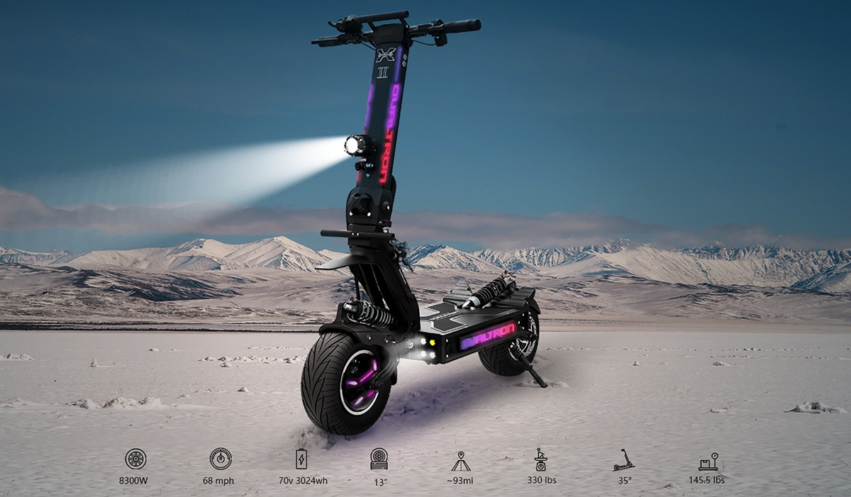 Desktop picture of the Dualtron X2 Electric Scooter