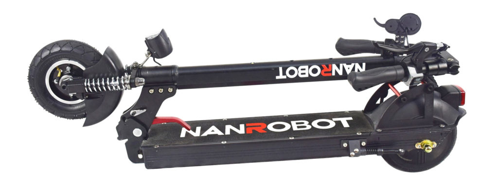 picture of a folded up Nanrobot x4