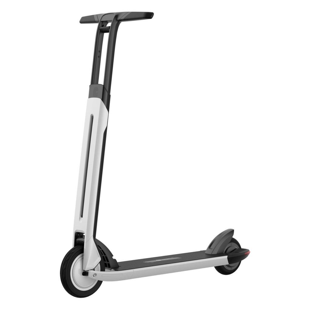 Ninebot Segway Electric Scooter seen from the side
