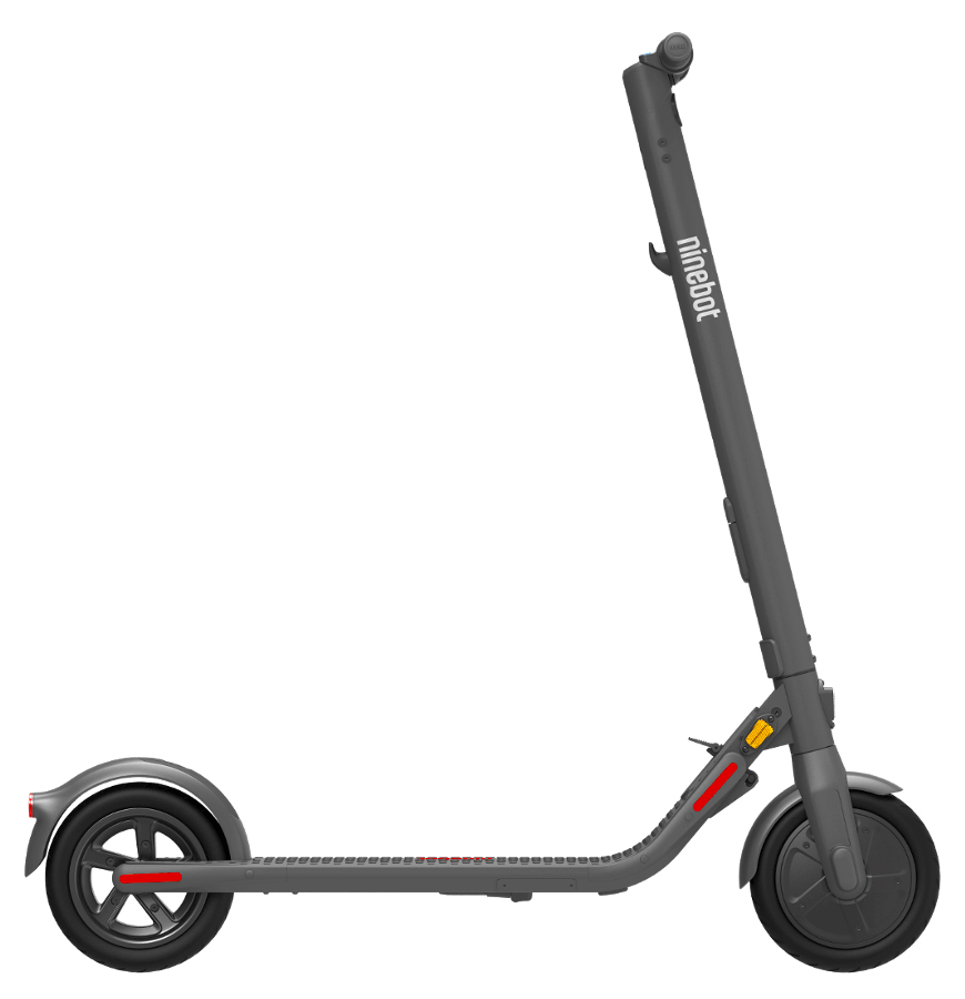 side view of the Ninebot Electric Scooter