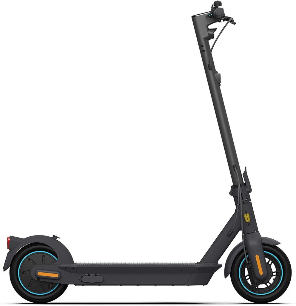 Ninebot electric scooter side view