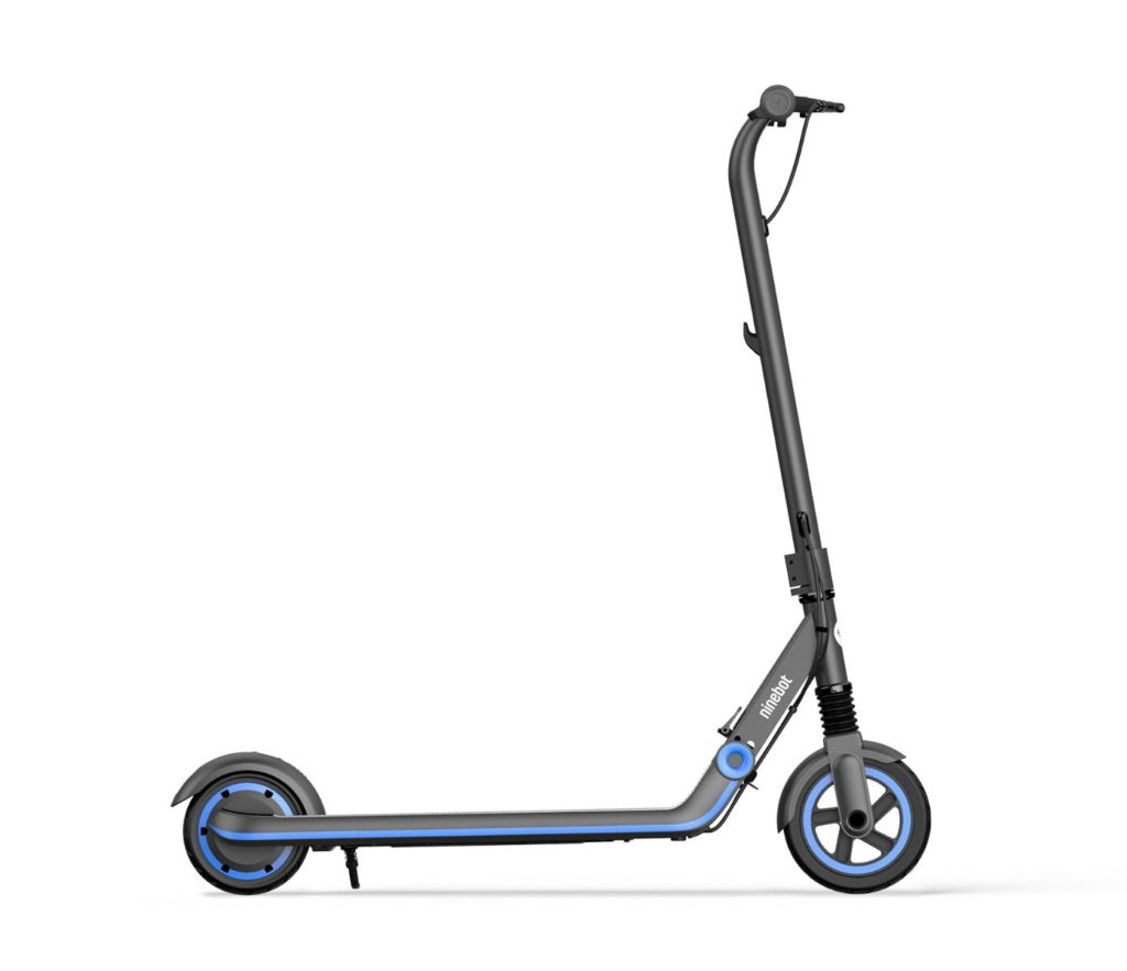 Side view of the Zing E10 electric scooter