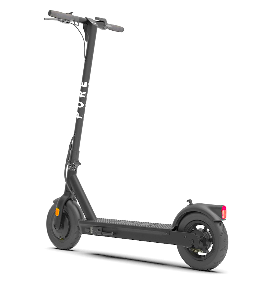back view of the Pure Air electric scooter