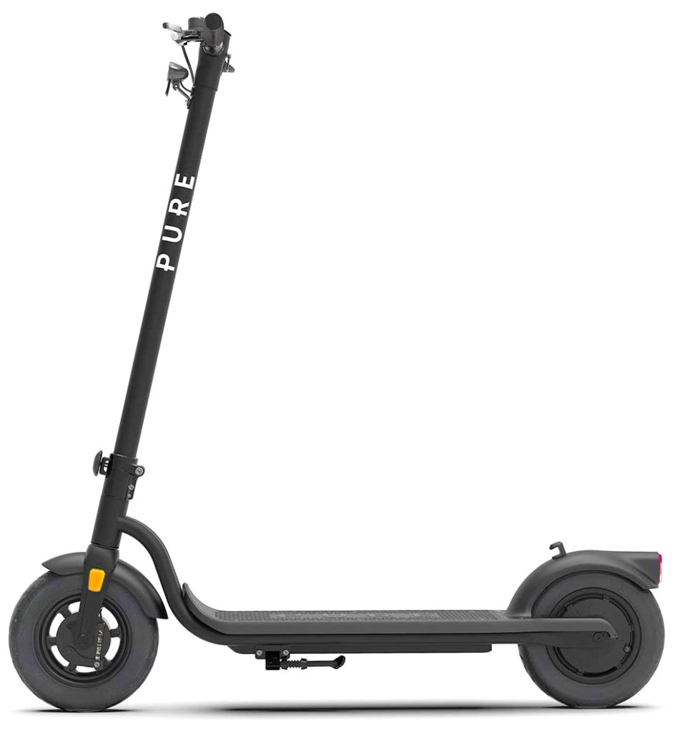 Pure Air Pro electric scooter side view