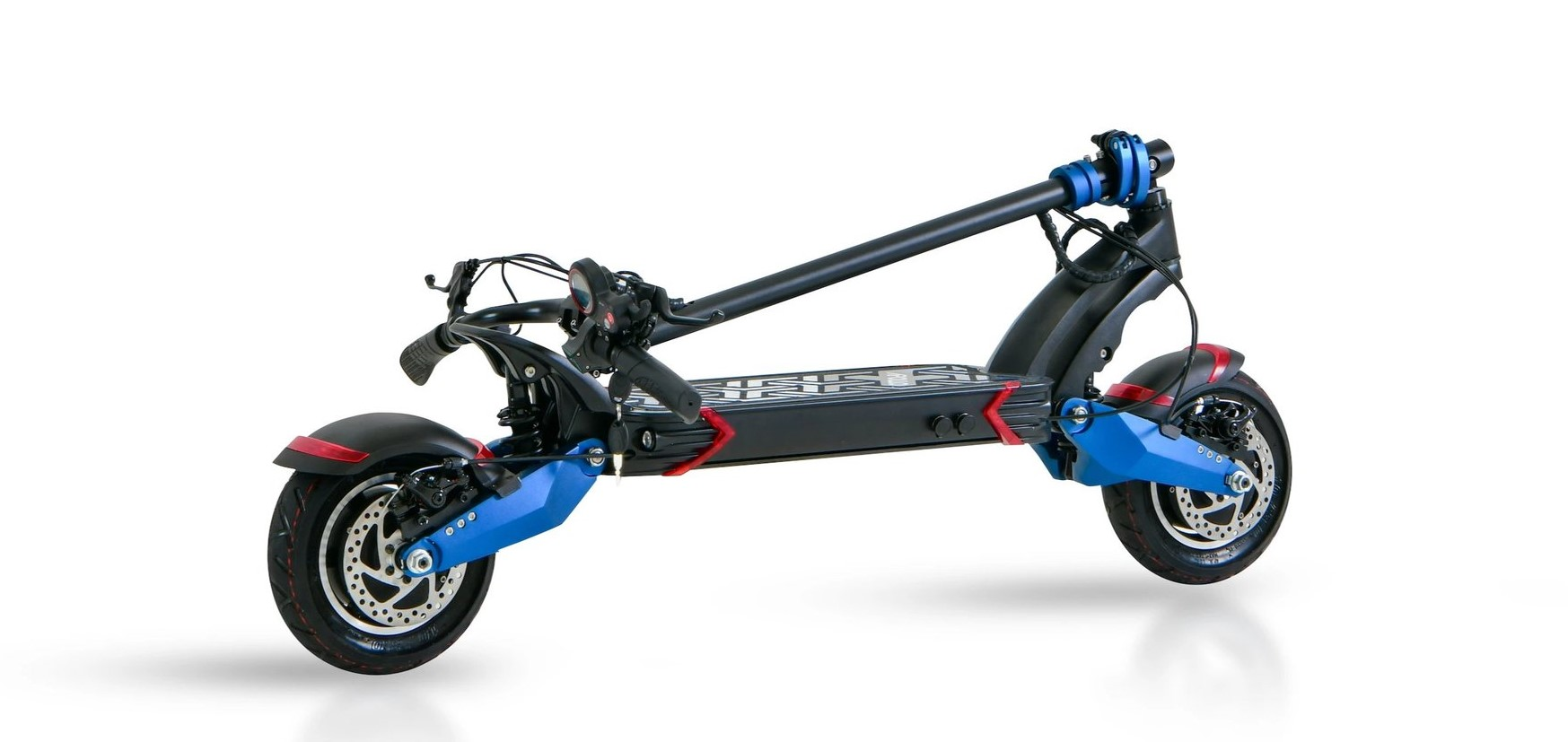 apollo pro folded electric scooter