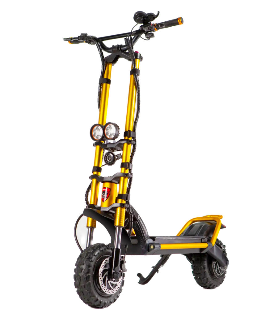 A picture of the amazing Kaabo Wolf King electric scooter