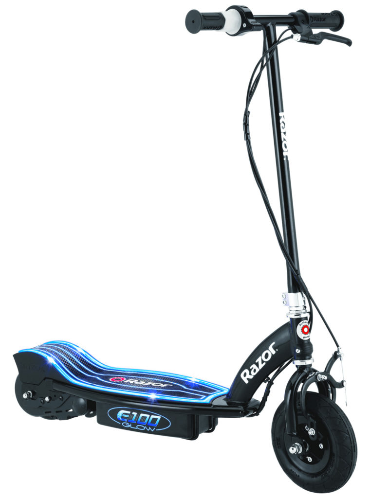 An image of the Razor E100 Glow kids electric scooter