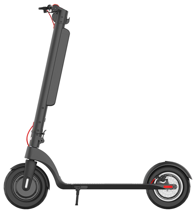 The side profile view of the Turboant X7 Pro electric scooter