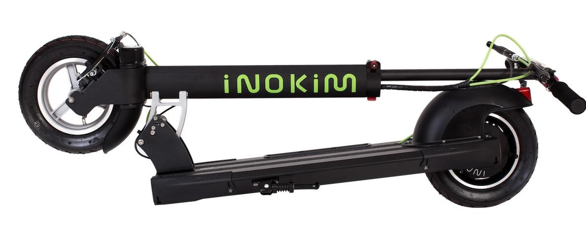 Inokim Quick 3 folded electric scooter
