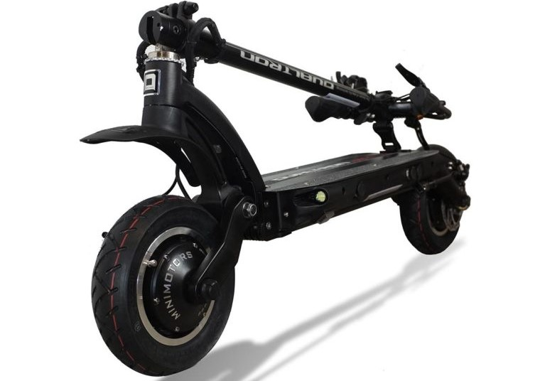 Dualtron Eagle Pro folded electric scooter