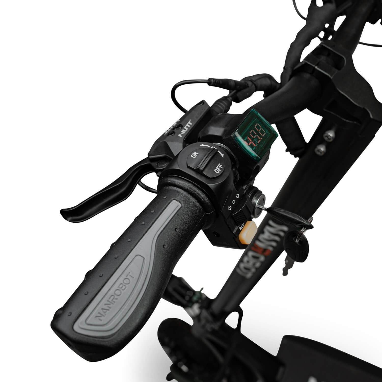 Nanrobot D6+ electric scooter grips