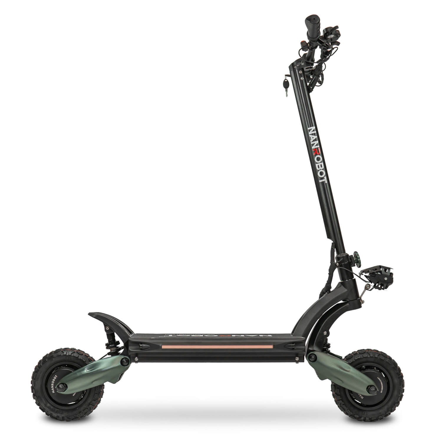 Nanrobot D6+ electric scooter side