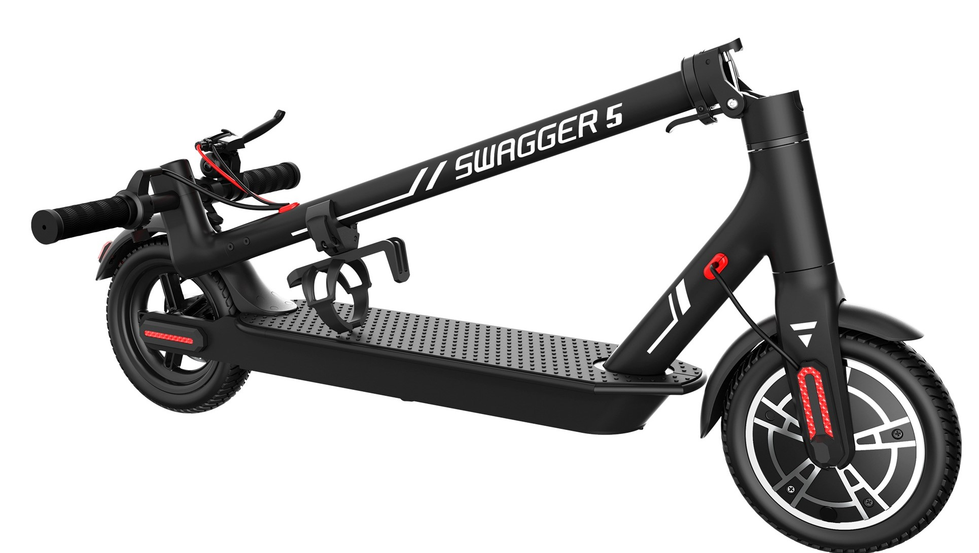 Swagger 5 Boost folded scooter